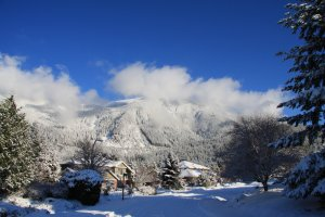 our house and Mt. Si