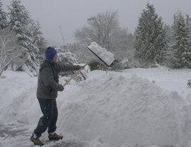 clearing the driveway, again