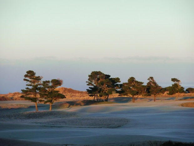 Sunrise at Bandon Dunes, Oregon