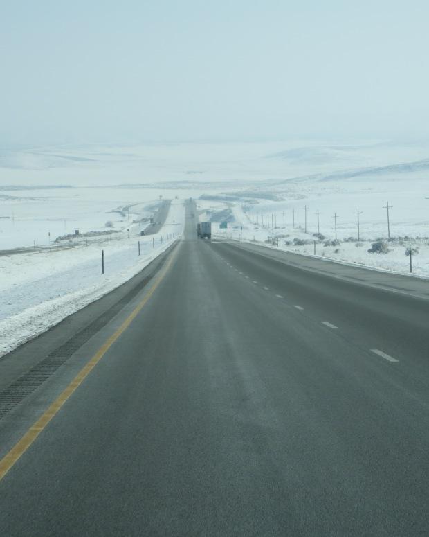 Entering Utah from Idaho