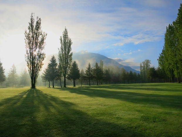 Mt. Si second fairway