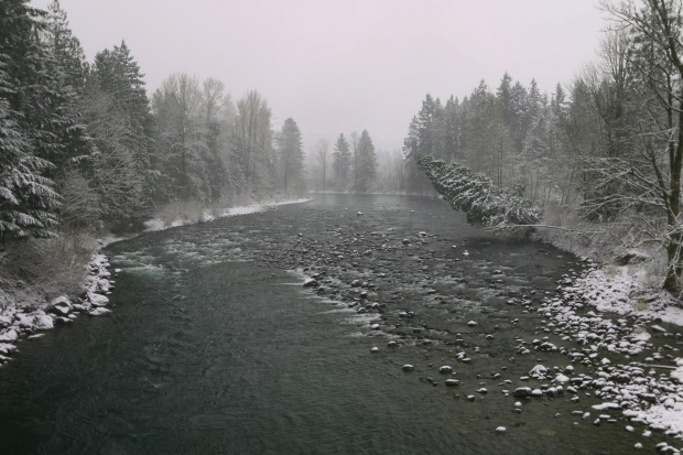 Snoqualmie River from Mt. Si Road bridge