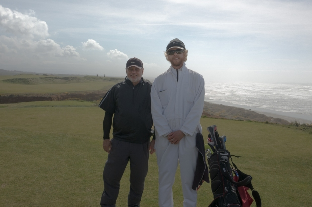 At the 16th Tee, Bandon Dunes