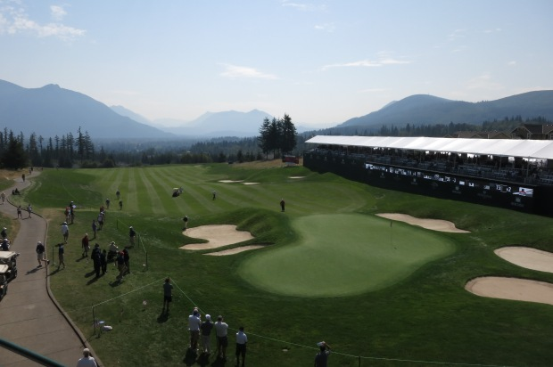 Snoqualmie Ridge, 18th Green