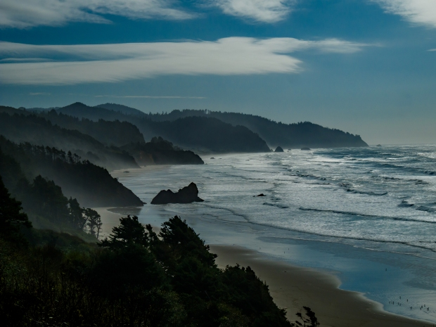 Cape Falcon, South of Cannon Beach, Oregon